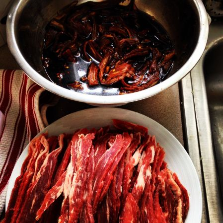 Making jerky is good...but much faster to buy!
