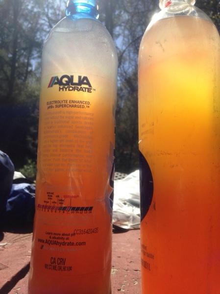 Rehydrating with gatorade powder