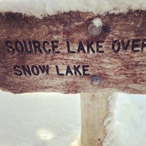 To Snow Lake -->