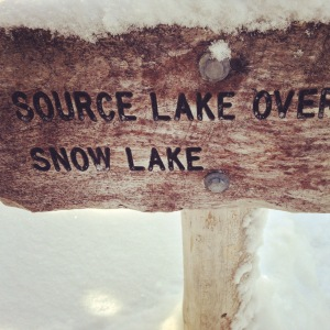 To Snow Lake -->