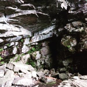 Sport climbing cave