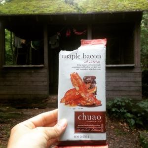Thanks for the maple bacon chocolate bar, Tara!