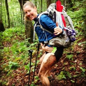 Andrea's mudslide!