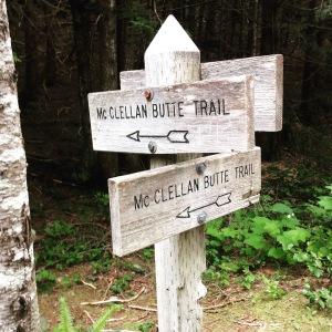 All roads lead to McClellan Butte