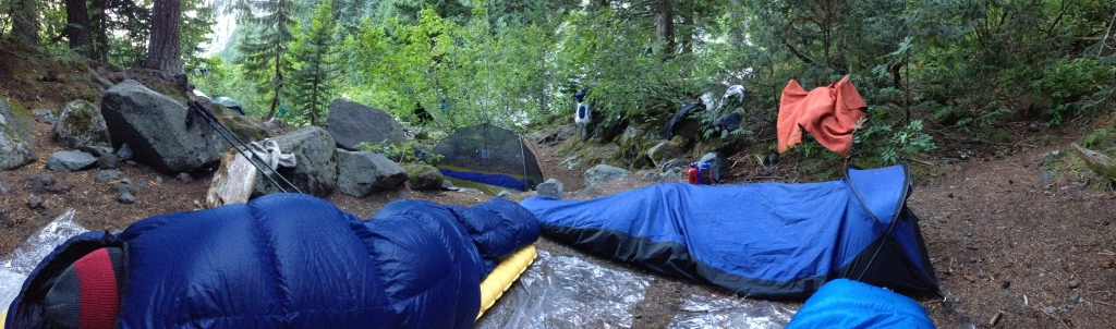 Camp, night 1