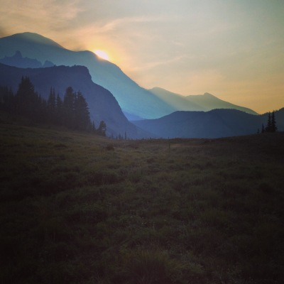 Sunsetting at summerland
